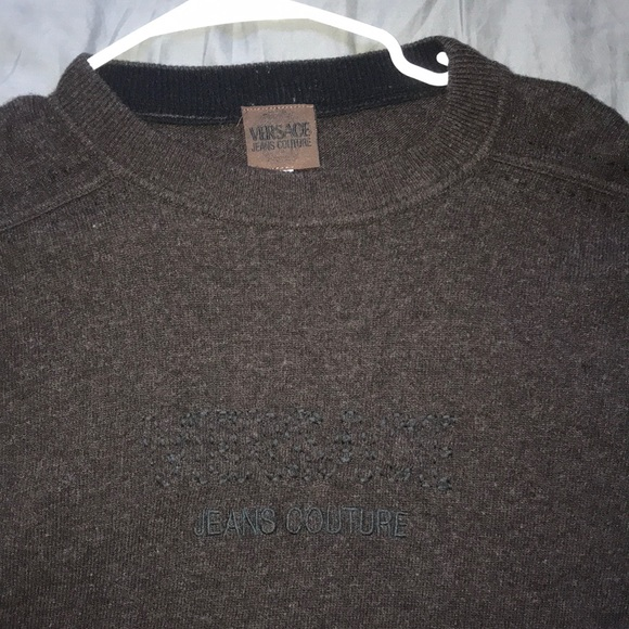 Versace Other - Versace jeans couture wool sweater